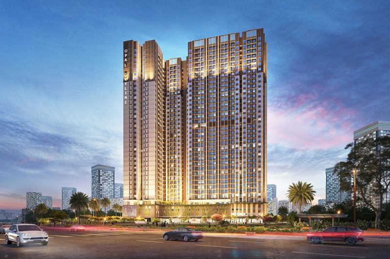 Opal Skyline Bình Dương - Dự án bất động sản tầm cỡ giữa lòng thành phố